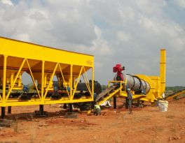 A new 40t/h asphalt plant installed in Thailand