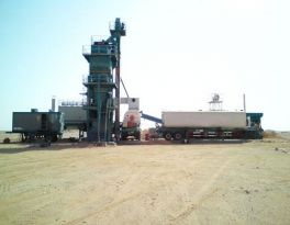 One YLB2000 Mobile Asphalt Plant in Turkmenistan