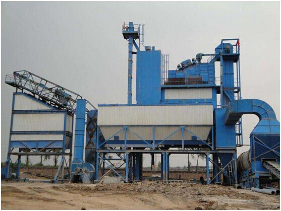 Operation rule for asphalt mixing plant