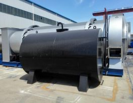 One set MDHB40 drum asphalt mixing plant shipped to Southeast Asia